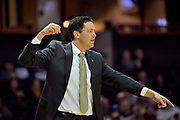 Vanderbilt Commodores head coach Bryce Drew during the first half of a NCAA college basketball game against the Alcorn State Braves in Nashville, Tenn., Friday, Nov 16, 2018. (Jim Brown/Image of Sport)