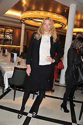 JODIE KIDD at a lunch to launch Cash & Rocket on Tour 2013 hosted by Julia Brangstrup in aid of Orpan Aid and Shine on Sierrra Leone held at Banca, 40 North Audley Street, London on 29th April 2013.