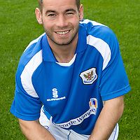St Johnstone Photocall..2008-09 Season<br /> Peter MacDonald<br /> Picture by Graeme Hart.<br /> Copyright Perthshire Picture Agency<br /> Tel: 01738 623350  Mobile: 07990 594431