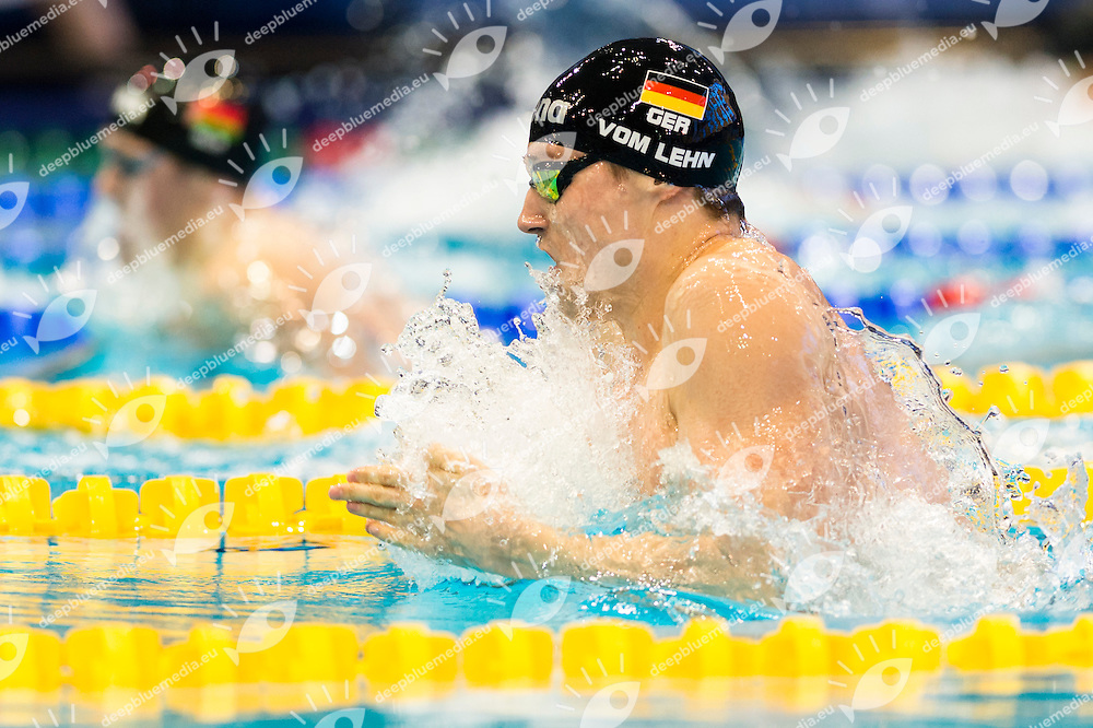 VOM LEHN Christian GER<br /> 200m Breaststroke Men Heats<br /> Netanya, Israel, Wingate Institute<br /> LEN European Short Course Swimming Championships Dec. 2 - 6, 2015 Day01 Dec.02<br /> Nuoto Campionati Europei di nuoto in vasca corta<br /> Photo Giorgio Scala/Deepbluemedia/Insidefoto