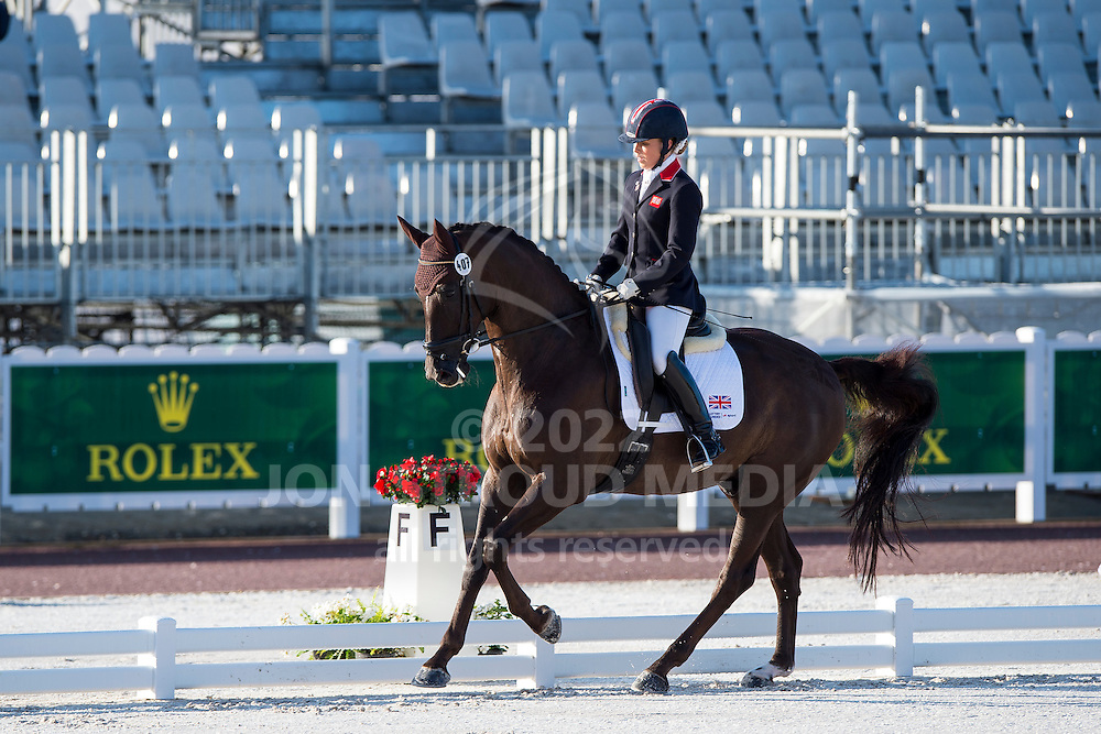 Sophie Wells, (GBR), Valerius - Team Competition Grade IV Para Dressage - Alltech FEI World Equestrian Games&trade; 2014 - Normandy, France.<br /> &copy; Hippo Foto Team - Jon Stroud <br /> 25/06/14