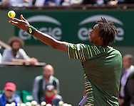 Gael Monfils (FRA)<br /> <br /> Tennis - French Open 2015 - Grand Slam ITF / ATP / WTA -  Roland Garros - Paris -  - France  - 1 June 2015.
