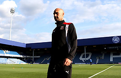Swindon Town manager Luke Williams arrives at Loftus Road - Mandatory by-line: Robbie Stephenson/JMP - 10/08/2016 - FOOTBALL - Loftus Road - London, England - Queens Park Rangers v Swindon Town - EFL League Cup