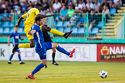 Shamar Nicholson of NK Domzale during 1st leg football match between NK Siroki Brijeg and NK Domzale in 1st Qualifying round of UEFA Europa League , on July 12, 2018 in Stadium Pecara, Siroki Brijeg, Bosnia and Herzegovina. Photo by Ziga Zupan / Sportida