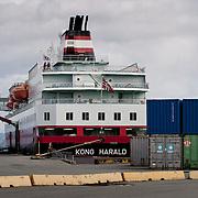 Three weeks aboard the Kong Harald. Hurtigruten, the Coastal Express.