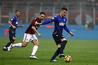 Milan-Lazio - Serie A 22a giornata - Nella foto : Sergej Milinkovic-Savic  - Lazio