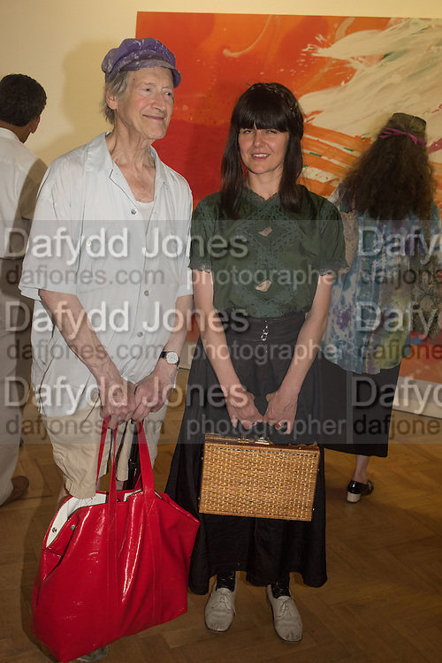MICHAEL HOROVITZ; VANESSA VIE Albert Irvin: Painting the Human Spirit - private view<br /> Exhibition dedicated to the memory of Albert Irvin who passed away in March 2015. Private view held on anniversary of Irvin's birthday .Gimpel Fils Gallery, 30 Davies Street, London, 21 August 2015.