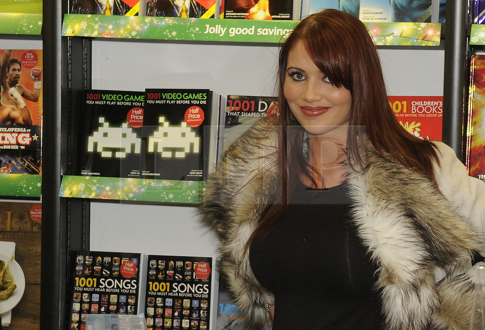 "**CAPTION CORRECTION**<br /> Image was sent out with wrong name. Subject is Amy Childs NOT Sophie Price.<br /> © under license to London News Pictures. 25.11.2010 Star of The Only Way Is Essex, Amy Childs at Waterstones in Bluewater today (25/11/2010) where Katy Price was launching her new book "" You Only Live Once"".  Picture credit should read Grant Falvey/London News Pictures"