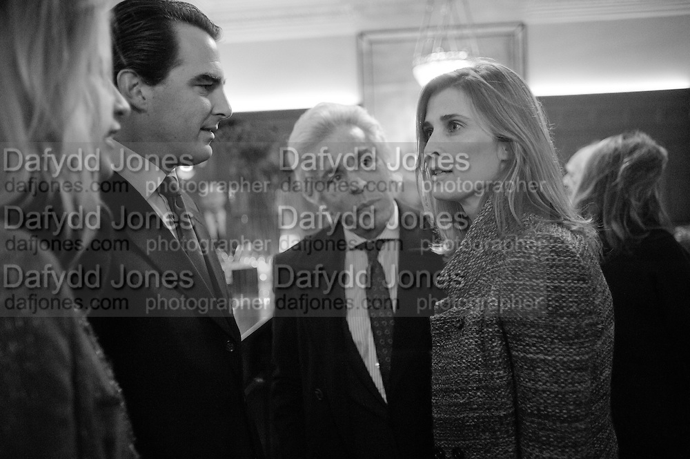 GIANCARLO GIAMETTI; PRINCESS; ROSARIO OF BULGARIA;  Graydon and Anna Carter host a lunch for Carolina Herrera to celebrate the ipening of her new shop on Mount St. .The Connaught. London. 20 January 2010