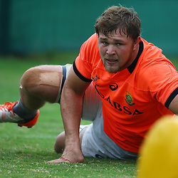 DURBAN, SOUTH AFRICA - SEPTEMBER 01: Duane Vermeulen during the South African national rugby team training session at Peoples Park on September 01, 2015 in Durban, South Africa. (Photo by Steve Haag/Gallo Images)