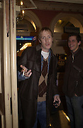 Rhys Ifans. Frost French, Duke of York's theatre. St, Martin's Lane. 17/2/02© Copyright Photograph by Dafydd Jones 66 Stockwell Park Rd. London SW9 0DA Tel 020 7733 0108 www.dafjones.com