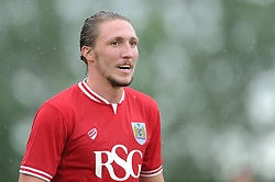 Luke Ayling of Bristol City - Photo mandatory by-line: Dougie Allward/JMP - Mobile: 07966 386802 - 05/07/2015 - SPORT - Football - Bristol - Brislington Stadium - Pre-Season Friendly