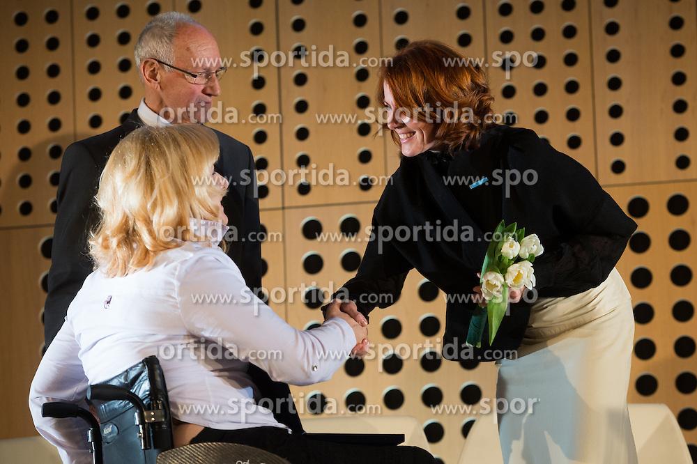 Veselka Pevec at 52th Annual Awards of Stanko Bloudek for sports achievements in Slovenia in year 2016 on February 14, 2017 in Brdo Congress Center, Brdo, Ljubljana, Slovenia.  Photo by Martin Metelko / Sportida