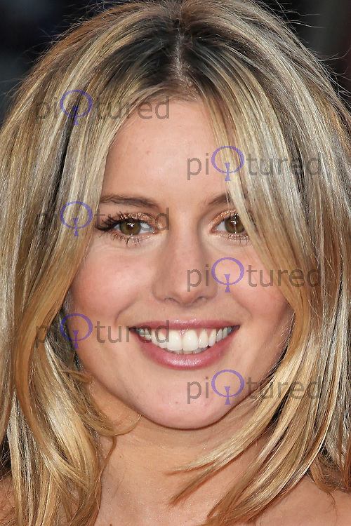 LONDON - MARCH 27: Caggie Dunlop attends the World Film Premiere of 'Titanic 3D' at the Royal Albert Hall, London, UK. March 27, 2012. (Photo by Richard Goldschmidt)