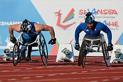 TAHTI Leo Pekka, ADELAIDE Alex, 2014 IPC European Athletics Championships, Swansea, Wales, United Kingdom
