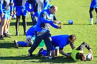 Jake WHITE - nouveau coach - 31.12.2014 - Rugby - Entrainement Montpellier - Top 14<br /> Photo : Nicolas Guyonnet / Icon Sport