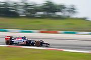 March 28, 2014 - Sepang, Malaysia. Malaysian Formula One Grand Prix. Daniil Kvyat, (RUS), Toro Rosso-Renault<br /> <br /> © Jamey Price / James Moy Photography