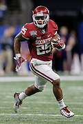Jan 02, 2017  New Orleans,LA USA: Oklahoma running back Joe Mixon (25) game stats 19 carriers for 101 yards, 2 touchdowns rush for 89 yards during the NCAA  Allstate Sugar Bowl football game between Auburn Tigers and the Oklahoma Sooners 35-19 win at Mercedes-Benz Superdome New Orleans, LA. Thurman James / CSM