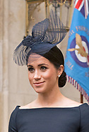 Meghan Markle Joins Royals At RAF Centenary2
