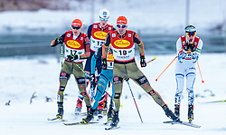 17.12.2016, Nordische Arena, Ramsau, AUT, FIS Weltcup Nordische Kombination, Langlauf, im Bild Bjoern Kircheisen (GER) // Bjoern Kircheisen of Germany during Cross Country Competition of FIS Nordic Combined World Cup, at the Nordic Arena in Ramsau, Austria on 2016/12/17. EXPA Pictures © 2016, PhotoCredit: EXPA/ JFK