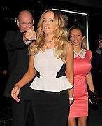 09.JULY.2012. LONDON<br /> <br /> MARIA FOWLER LEAVING STRINGFELLOW'S TABLE DANCING CLUB IN COVENT GARDEN AT 2AM. MARIA'S FRIEND HAD TO HELP MARIA HIDE HER BARE BOTTOM AFTER HER SKIRT HAD SPLIT AT THE BACK.<br /> <br /> BYLINE: EDBIMAGEARCHIVE.CO.UK<br /> <br /> *THIS IMAGE IS STRICTLY FOR UK NEWSPAPERS AND MAGAZINES ONLY*<br /> *FOR WORLD WIDE SALES AND WEB USE PLEASE CONTACT EDBIMAGEARCHIVE - 0208 954 5968*