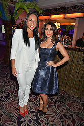 Left to right, HEATHER WATSON and VANESSA WHITE at the WGSN Global Fashion Awards 2015 held at The Park Lane Hotel, Piccadilly, London on 14th May 2015.
