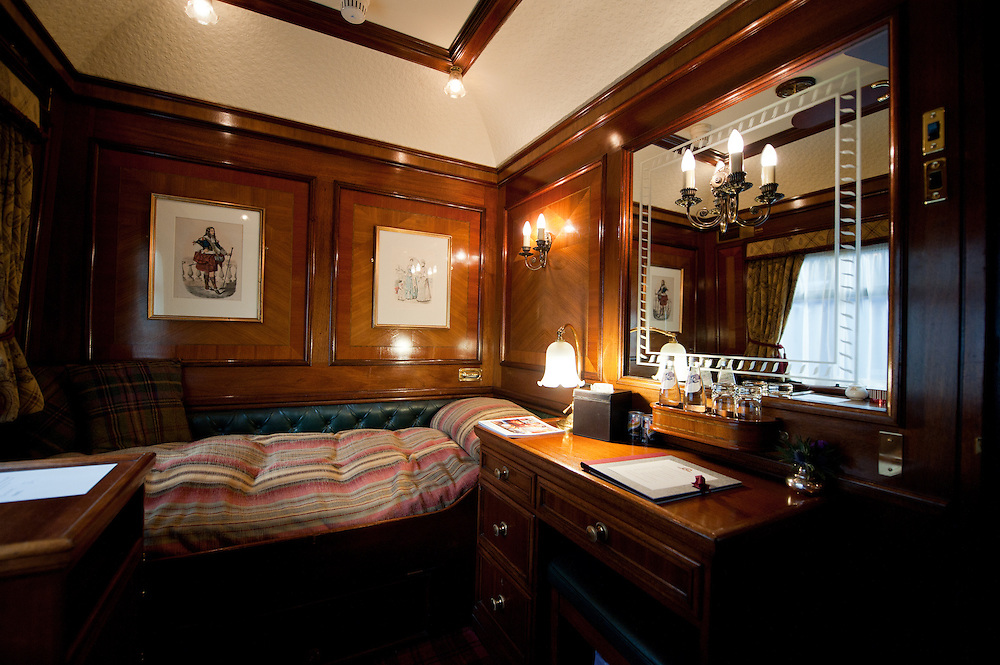 Cabin on The Royal Scotsman - Corporate Commission