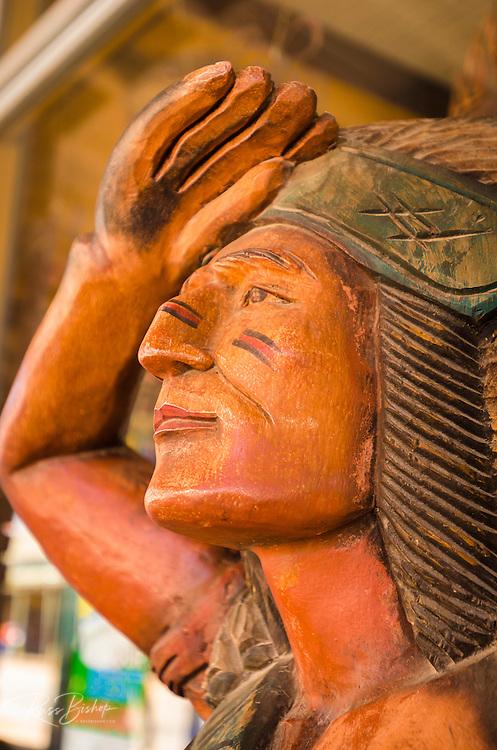 Wooden Indian, Tombstone, Arizona USA