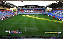 A general view as the sun sets at the DW Stadium - Mandatory by-line: Matt McNulty/JMP - 21/09/2018 - FOOTBALL - DW Stadium - Wigan, England - Wigan Athletic v Bristol City - Sky Bet Championship