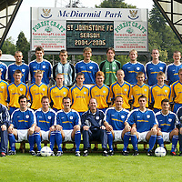 St Johnstone FC Photocall 2004-2005 season.<br />