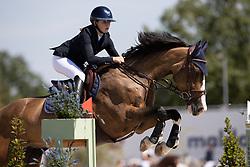 Vanderlinden Charline, BEL, Gwen vd Bergkampen<br /> Belgisch Kampioenschap Jeugd Azelhof - Lier 2020<br /> <br /> © Hippo Foto - Dirk Caremans<br /> 30/07/2020