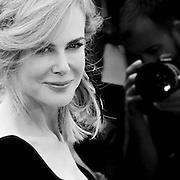 "Black & White Portrait ""Nicole Kidman"" during the 66th Annual Cannes Film Festival"