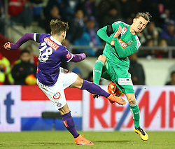 14.02.2016, Generali Arena, Wien, AUT, 1. FBL, FK Austria Wien vs SK Rapid Wien, 22. Runde, im Bild Christoph Martschinko (FK Austria Wien) und Mario Pavelic (SK Rapid Wien) // during Austrian Football Bundesliga Match, 22nd Round, between FK Austria Vienna and SK Rapid Vienna at the Generali Arena, Vienna, Austria on 2016/02/14. EXPA Pictures © 2016, PhotoCredit: EXPA/ Thomas Haumer