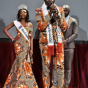 Mister Congo UK 2018-19 Jeffrey Samba attend the Mr & Miss Congo 2020,on 29th February 2020 at Old Townhall,Stratford, London, UK.