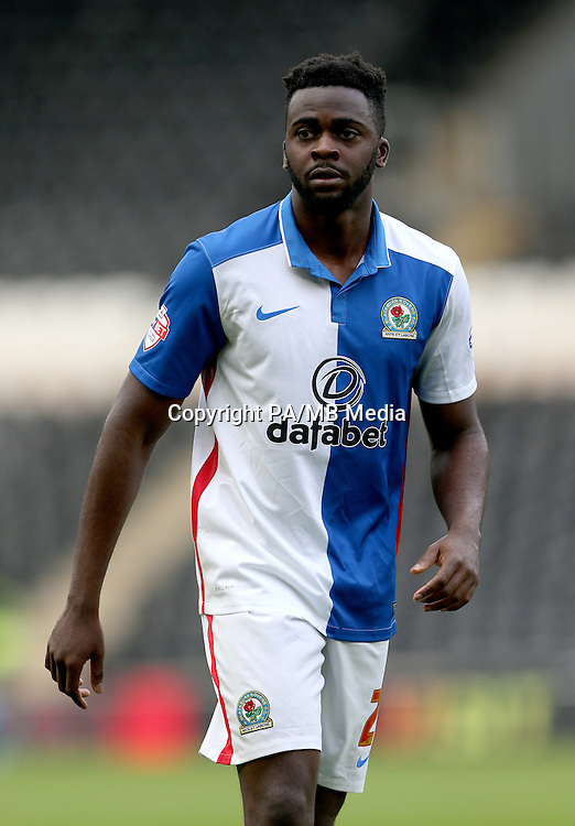 Blackburn Rovers' Hope Akpan