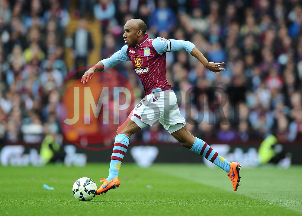 Aston Villa's Fabian Delph  - Photo mandatory by-line: Joe Meredith/JMP - Mobile: 07966 386802 - 09/05/2015 - SPORT - Football - Birmingham - Villa Park - Aston Villa v West Ham United - Barclays Premier League