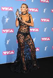 August 21, 2018 - New York City, New York, USA - 8/20/18.Rita Ora at the 2018 MTV Video Music Awards at Radio City Music Hall in New York City. (Credit Image: © Starmax/Newscom via ZUMA Press)