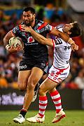 Ligi Sao. Auckland Warriors v St George Dragons. NRL Rugby League.Magic Round 2019 Suncorp Stadium, Brisbane, New Zealand. May 11, 2019. © Copyright photo: Patrick Hamilton / www.photosport.nz