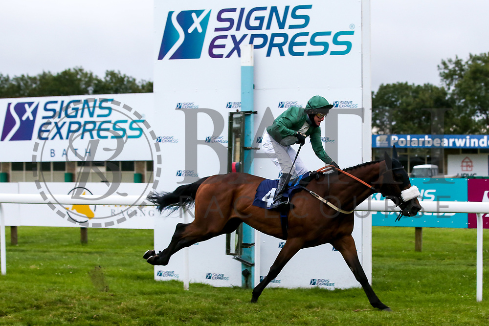 Hidden Depths ridden by Liam Keniry and trained by Neil Mulholland wins the Sky Sports Racing Sky 415 Handicap - Mandatory by-line: Robbie Stephenson/JMP - 18/07/2020 - HORSE RACING- Bath Racecourse - Bath, England - Bath Races 18/07/20