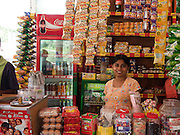 Sri Lanka, Ampara District, Arugam Bay, Pottuvil a small fishing village and popular surfing resort A grocery store