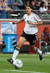 30.06.2011, Commerzbank Arena, Frankfurt, GER, FIFA Women Worldcup 2011, Gruppe A, Deutschland (GER) vs. Nigeria (NGA), im Bild .Annike Krahn (GER) .// during the FIFA Women Worldcup 2011, Pool A, Germany vs Nigeria on 2011/06/30, Commerzbank Arena, Frankfurt, Germany.  EXPA Pictures © 2011, PhotoCredit: EXPA/ nph/  Karina Hessland       ****** out of GER / CRO  / BEL ******