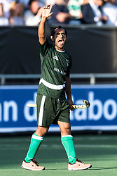 Rashid Mehmood of Pakistan during the Champions Trophy match between the Netherlands and Pakistan on the fields of BH&BC Breda on June 26, 2018 in Breda, the Netherlands