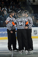 KELOWNA, CANADA, FEBRUARY 15:  Kelowna Rockets on February 15, 2012 at Prospera Place in Kelowna, British Columbia, Canada (Photo by Marissa Baecker/Shoot the Breeze) *** Local Caption ***