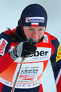GEPA-26111068028 - KUUSAMO,FINNLAND,26.NOV.10 - SKI NORDISCH, LANGLAUF - FIS Weltcup, Nordic Opening, 1,2km Sprint der Damen. Bild zeigt Justyna Kowalczyk (POL). Foto: GEPA pictures/ Felix Roittner.FOT. GEPA / WROFOTO.*** poland only !!! ***