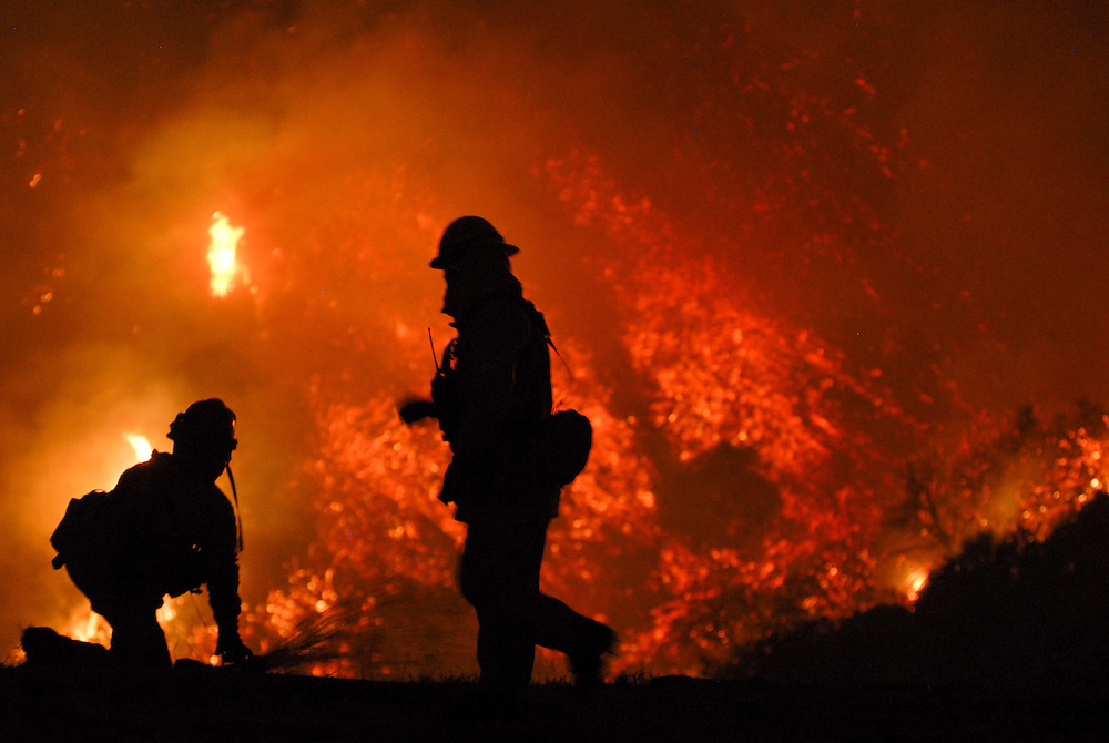 Santa Barbara, California. 2009<br /> <br /> The Jesusita fire began on May 5th, 2009, and destroyed close to 9,000 acres in the hills of Montecito and Santa Barbara. In 5 days, 80 homes were destroyed and 15 were damaged from the wildfire.