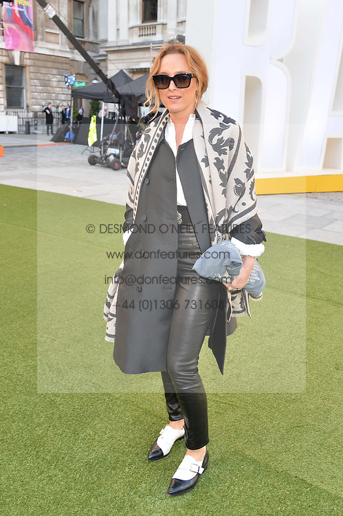 ALICE TEMPERLEY at the annual Royal Academy of Art Summer Party held at Burlington House, Piccadilly, London on 4th June 2014.