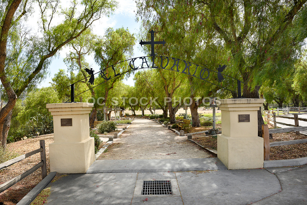 Stations of the Cross Entrance at Old Mission Santa Ines