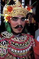 Indonésie. Bali. Province d'Ubud. Festival au temple de Batuan. // Temple festival at Batuan near Ubud - Ubud area - Bali - Indonesia