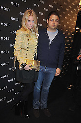 MARISSA MONTGOMERY and JAMIE RUBEN at the Moet & Chandon Tribute to Cinema party held at the Big Sky Studios, Brewery Road, London N7 on 24th March 2009.