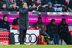 23.02.2019, Allianz Arena, Muenchen, GER, 1. FBL, FC Bayern Muenchen vs Hertha BSC, 23. Runde, im Bild Trainer Niko Kovac (FC Bayern Muenchen) gestikuliert // during the German Bundesliga 23th round match between FC Bayern Muenchen and Hertha BSC at the Allianz Arena in Muenchen, Germany on 2019/02/23. EXPA Pictures © 2019, PhotoCredit: EXPA/ Eibner-Pressefoto/ Tom Weller<br /> <br /> *****ATTENTION - OUT of GER*****